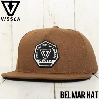 VISSLA ヴィスラ BELMAR HAT SNAPBACK CAP スナップバックキャップ MAHTJBEL