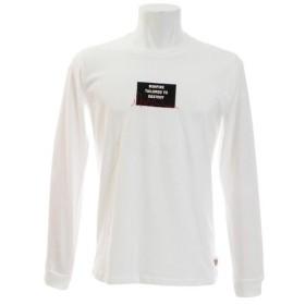 ボンファイア(Bonfire) SKYLINE ロングスリーブTシャツ 10BNF8CD2021 WHT (Men's)