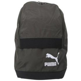【PUMA ウェア】 プーマウェア M オリジナルス バックパック トレンド 075442 02フォレスト ナイト/ ホワ