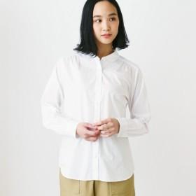 シャツ ブラウス レディース 長袖定番シャツ 「オフホワイト」