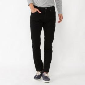 パンツ メンズ ズボン メンズ メガストレッチ4WAYツイル5ポケットストレートパンツ 「ブラック」