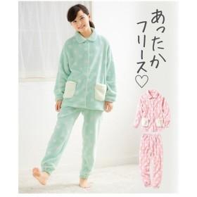 パジャマ キッズ ふわふわフリース 女の子 子供服・ジュニア服  身長130cm ニッセン