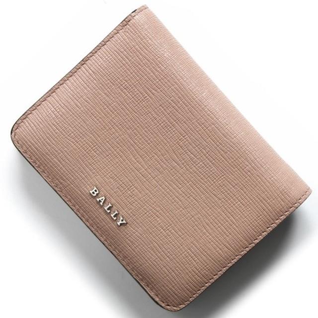 95174ff3811a バリー カードケース/二つ折り財布【札入れ】 レディース レッツ ヌードピンク&