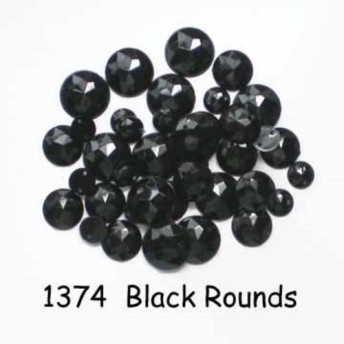 【USAボタン】Black Rounds【FF1374】