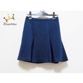 エストネーション ESTNATION スカート サイズ38 M レディース 美品 ネイビー                   スペシャル特価 20191029