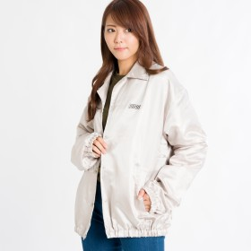 ジャケット・ブルゾン - WEGO【WOMEN】 ロゴコーチジャケット BR18AU09-L077