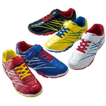 【格安-子供用靴】ジュニアエナメル調素材スニーカー