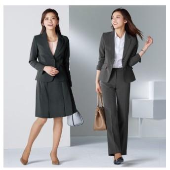 3点セットスーツ(ジャケット+パンツ+スカート)(股下77cm)【レディーススーツ】 【レディーススーツ】通勤・社会人・リクルートスーツ,women's suits