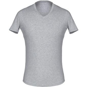 《セール開催中》DSQUARED2 メンズ アンダーTシャツ グレー XXL 95% コットン 5% ポリウレタン