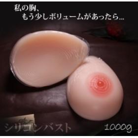 人工乳房 msm1000 左右で1000g Dカップ シリコンバスト シリコン製バスト 高級人口乳房 シリコン