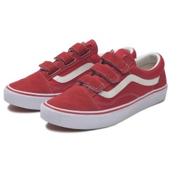 【VANS】 OLD SKOOL EZ DX ヴァンズ オールドスクールEZ DX V36EZ+ RED 6(24cm)