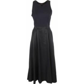 ドレス カジュアルドレス 結婚式用 レディース【Ys Cut-out Detail Long Dress】Blue