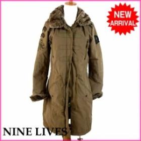 ナインライブス NINE LIVES コート 服 上着 服 レディース レディース フェイクファー付き 【中古】 F373
