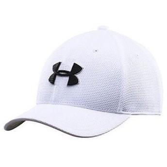 (セール)UNDER ARMOUR(アンダーアーマー)スポーツアクセサリー 帽子 UA BOYS BLIZING 2.0 CAP 1254660 ボーイズ SMMD WHITE/BLACK