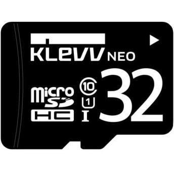 GREEN HOUSE U032GUC1U18-DK microSDHC(アダプタ付) UHS-I U1 32GB KLEVV