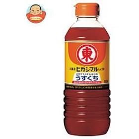 【送料無料】 ヒガシマル醤油  うすくちしょうゆ  500mlペットボトル×12本入