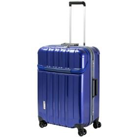 スーツケース TRAVERIST(トラベリスト)TRUSTOP(トラストップ) ブルー 7620422 [75L]