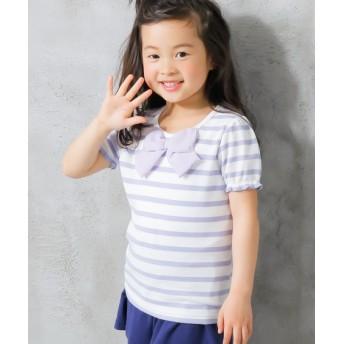 選べる4タイプ♪半袖トップス(女の子 子供服。ジュニア服) Tシャツ・カットソー
