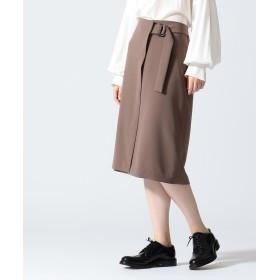 【オンワード】 JOSEPH WOMEN(ジョゼフ ウィメン) 【WEB限定カラーあり】ARIA / FLUID CLOTH スカート キャメル 36 レディース 【送料無料】