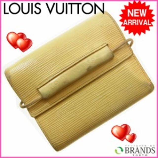 190e31ad9c29 ルイ ヴィトン Louis Vuitton 二つ折り財布 財布 小物 サイフ エピ 【中古】 A02