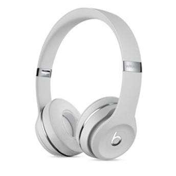 ブルートゥースヘッドホン Beats Solo3 MUH52PA/A サテンシルバー [リモコン・マイク対応 /Bluetooth]