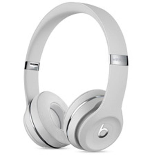 ブルートゥースヘッドホン Beats Solo3 Wireless(サテンシルバー)MUH52PA/A[マイク付]