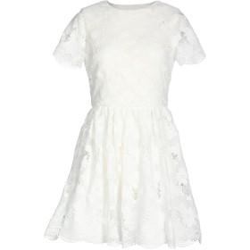 《期間限定セール開催中!》ALICE + OLIVIA レディース ミニワンピース&ドレス ホワイト 10 ポリエステル 100%