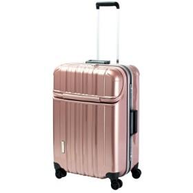 スーツケース TRAVERIST(トラベリスト)TRUSTOP(トラストップ) ピンク 7620426 [75L]