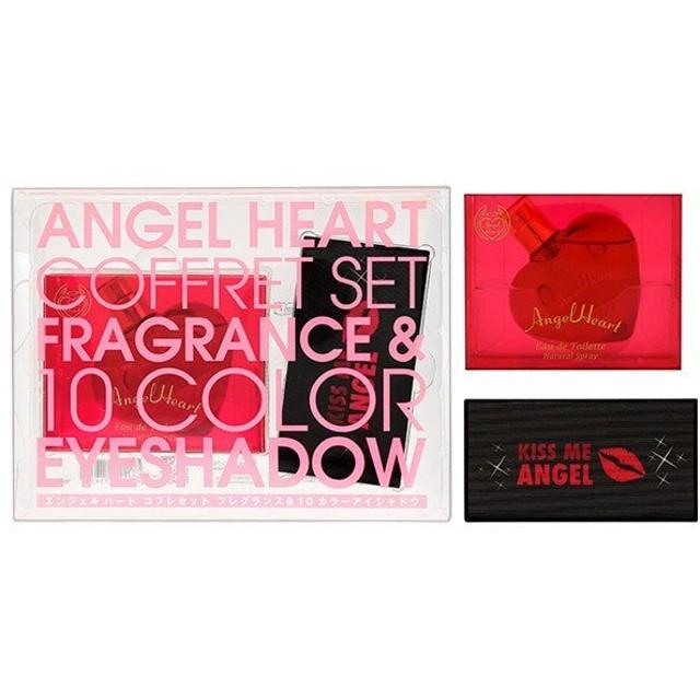 エンジェルハート ANGEL HEART エンジェルハート コフレセット 2018(オードトワレ 50ml +アイシャドウパレット10色)AngelHeart Coffret Set