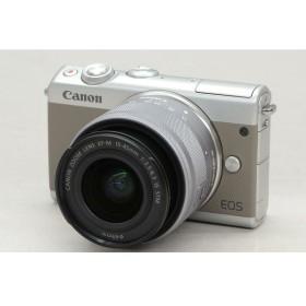 [中古] ミラーレスカメラ EOS M100 EF-M15-45 IS STM レンズキット グレー 2211C014