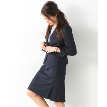 サイドタックタイトスカートスーツ