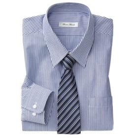 抗菌防臭。形態安定長袖ワイシャツ(レギュラーカラー)(標準シルエット) (ワイシャツ)