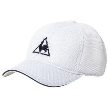 le coq sportif(ルコックスポルティフ) スポーツアクセサリー 帽子 メッシュキャップ QA-170375 WHT F WHT