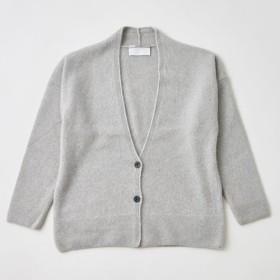 【sale】enrica cashmere & wool cardigan / mocha