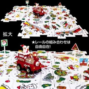 クリスマスパズルシティ(トレイン) クリスマス装飾デコレーション
