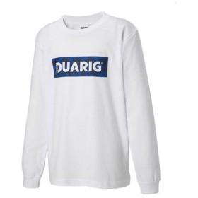 デュアリグ(DUARIG) UV 天竺 長袖Tシャツ 865D8CD2659 WHT (Jr)