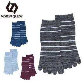 ビジョンクエスト VISION QUEST ソックス レディース 5本指 VQ430104H64