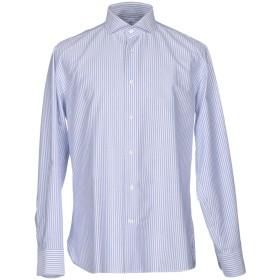 《期間限定セール開催中!》DANOLIS メンズ シャツ ダークブルー 43 コットン 100%