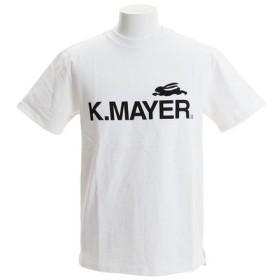 クリフメイヤー(KRIFF MAYER) ロゴプリントタフTシャツ 1755104-1-WHT (Men's)