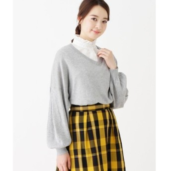 3can4on / サンカンシオン 【WEB限定】付け襟シャツ
