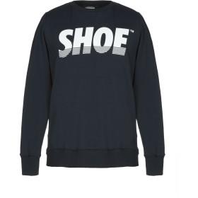 《セール開催中》SHOESHINE メンズ スウェットシャツ ダークブルー S コットン 95% / ポリウレタン 5%