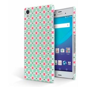 aquos ea 606sh ケース / Android One 507sh ケース アクオスea 606sh ケース ハードケース 可愛い キャラ 花 シンプル