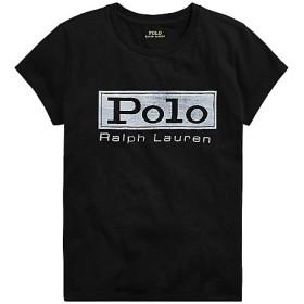【SALE(三越)】<POLO RALPH LAUREN(ウィメンズ)/ポロラルフローレン> ロゴ ジャージー グラフィック Tシャツ B10ブラック 【三越・伊勢丹/公式】