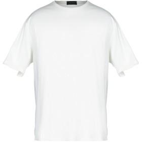《期間限定セール開催中!》ROBERTO COLLINA メンズ T シャツ アイボリー 46 コットン 100%