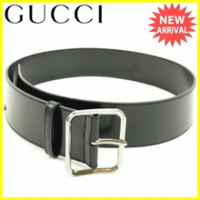 meet 583f4 2e185 グッチ Gucci ベルト レディース 【中古】 Y5119 通販 LINE ...