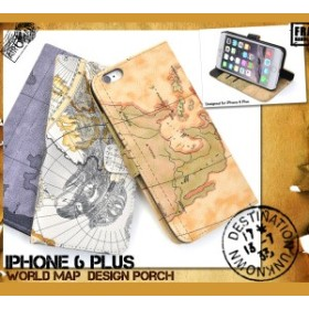2bb9830a2d iPhone6s Plus iPhone6 Plus ケース 手帳型 ワールドデザインケース 手帳型ケース おしゃれ iPhone 6s