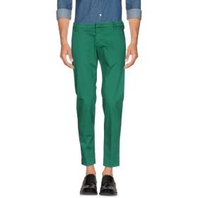 《期間限定 セール開催中》MICHAEL COAL メンズ パンツ エメラルドグリーン 34 コットン 97% / ポリウレタン 3%