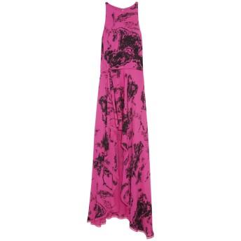 《9/20まで! 限定セール開催中》HALSTON HERITAGE レディース 7分丈ワンピース・ドレス フューシャ XXS シルク 100%