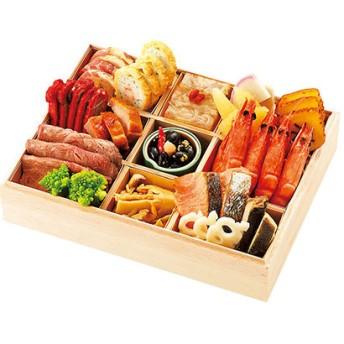 28箱根・芦ノ湖畔<小田急 山のホテル>おせち料理 一段重 箱根・湘南 名店の味