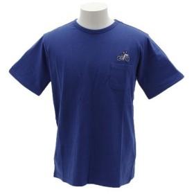 クリフメイヤー(KRIFF MAYER) 刺繍ポケット 半袖Tシャツ 1757202-3-BLU (Men's)